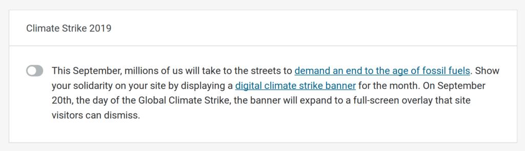 Rejoignez-nous dans une grève numérique du climat