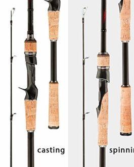 1,8m 2,1m 2,4m 2,7m 3 Article baitSmall Lake Fishing Voyage de Canne à pêche roding leurre Ultra Filature de lumière 5g 40g-M/ML/MH Rod