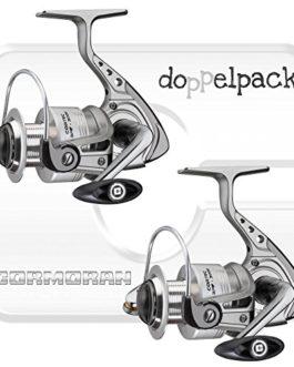 2 pcs. Cormoran Cortec 3PiF 2500 – Moulinet spinning avec frein avant (paquet double)