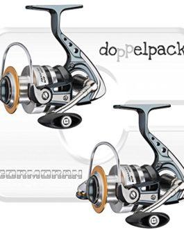 2 pcs. Cormoran Panacor 6PiF – Moulinet spinning avec frein avant (paquet double)