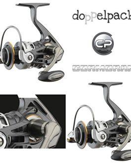 2 pcs. Cormoran Votacor 7PiF – Moulinet spinning avec frein avant (paquet double)
