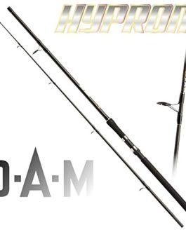 2 pcs. DAM Hypron ALLROUND 100, 50-100g/1,76-3,53oz – Canne à pêche allround (double pack)