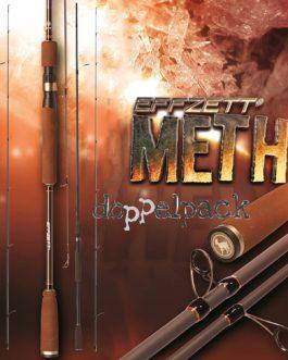 2 pcs. DAM Effzett METH Jigger, 2.40m / 7.87 ft, 5-15g / 0,17-0,52 oz – Canne jigging (paquet double)