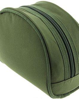 2 X Lineaffe Commando 40 1BB Camouflage Bobine Libre Carpe Specimen Moulinet Pêche Pré-chargés avec Carpe Ligne & X 2 Transport Protection Étuis