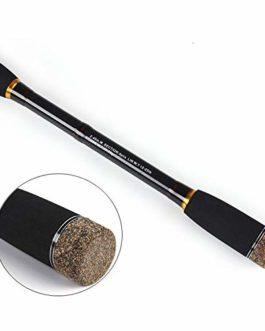 2.1m 2.4m 2.7m 3.0m 100% Fibre de Carbone Rod spinnings de pêche Coulée Voyage Rod 4 Sections d'action Rapide Leurre Rod