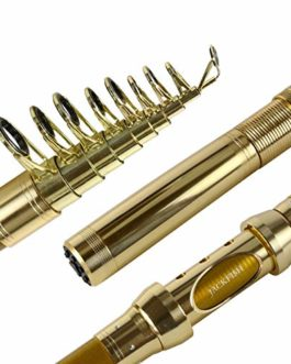 99% Carbone pêche télescopique Portable Rod Pêche à la Carpe Spinning Canne à Lancer Poisson sténographie Canne à pêche mer Tackle