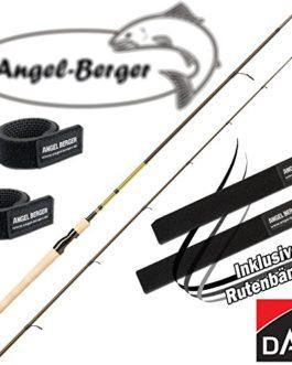 Angel-Berger DAM Effzett Classic Spin Canne à pêche tous les modèles avec ruban Canne à pêche