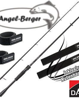 Angel-Berger DAM Effzett Impulse Spin Canne à pêche tous les modèles avec ruban Canne à pêche