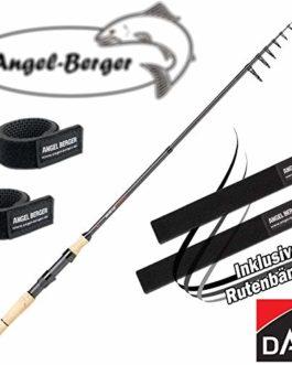 Angel-Berger Dam Shadow Tele Mini Spin Canne à pêche télescopique Tous Les modèles