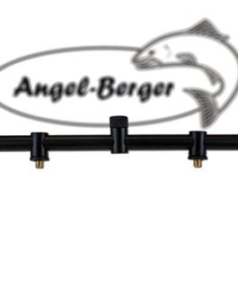 Angel Berger Heavy Black Buzzer Bar avec voiture Lock 3 Rods pour canne à pêche