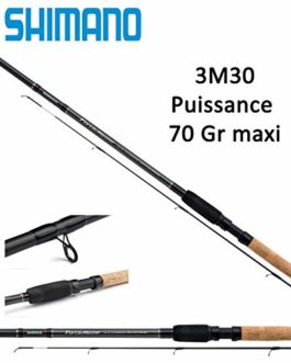 Boutiquepechemer Canne Feeder Shimano Forcemaster AX Commercial 11′ Feeder (3M30 Puissance : 70 GR)