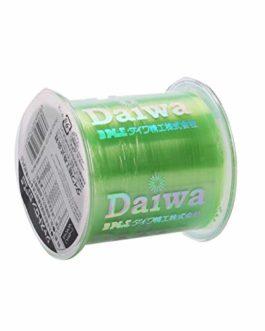 CUSHY 500m Nylon Ligne de pêche Japonaise Durable Monofilament Rocher Ligne de pêche Daiwa Fil en Vrac Bobine Tous Taille 4 Couleurs 0,4 à 8,0: 3,0, Vert