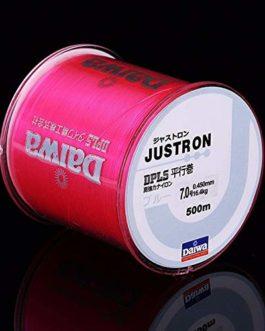 CUSHY 500m Nylon Ligne de pêche Japonaise Durable Monofilament Rocher Ligne de pêche Daiwa Fil en Vrac Bobine Tous Taille 4 Couleurs 0,4 à 8,0: Rose Fluorescent, 1.2
