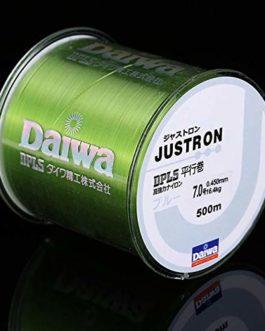 CUSHY 500m Nylon Ligne de pêche Japonaise Durable Monofilament Rocher Ligne de pêche Daiwa Fil en Vrac Bobine Tous Taille 4 Couleurs 0,4 à 8,0: Vert, 0,4