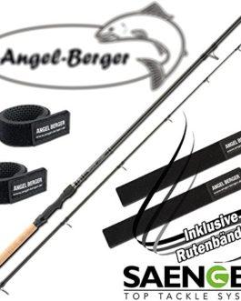 Chanteur Specialist Zander 20-65g Spin Canne à pêche avec bande Angel Berger Canne à pêche