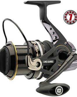Cormoran Black Master 8PiF avec frein de QD (Moulinet de pêche)