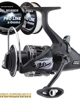Cormoran Black Master BR 8PiF Alternateur Roulettes gratuit Pro Line X-Treme Ficelle