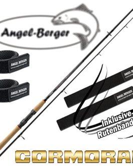Angel-Berger Cormoran I-Cor Red Spin Canne à pêche tous les modèles avec ruban Canne à pêche