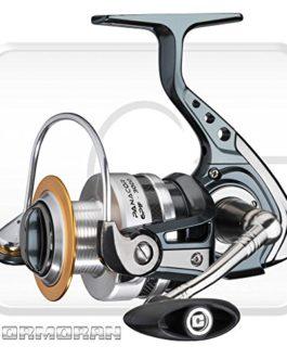 Cormoran Panacor 6PiF – Moulinet spinning avec frein avant + Shimano Ultegra ligne gratuitement
