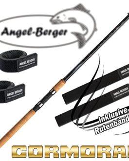 Cormoran telecor Canne à pêche télescopique tous les modèles avec bande Angel Berger Canne à pêche