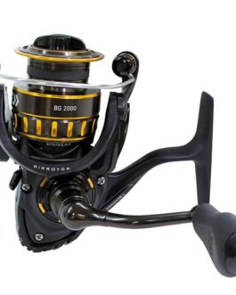 Daiwa BG 1500 Black & Gold Series Spinning Ultraléger Freshwater Reel NIB