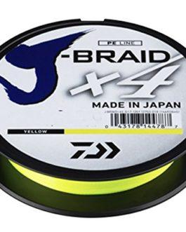 Daiwa J Braid x40,33mm 270m Yellow (jaune)