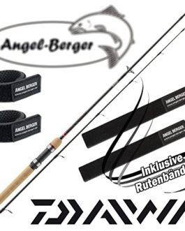 Daiwa Ninja X Spin Canne à pêche Spin Canne à pêche avec Angel Berger bande