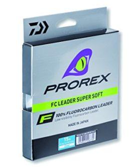 Daiwa Prorex FC Leader Super Soft – 0,36mm – 9,3Kg – Translucide – 50m