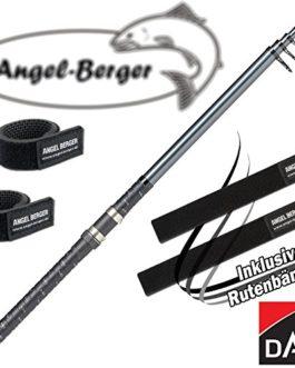Angel-Berger DAM Camaro Tele Poisson de réglage 50-100g avec ruban Canne à pêche