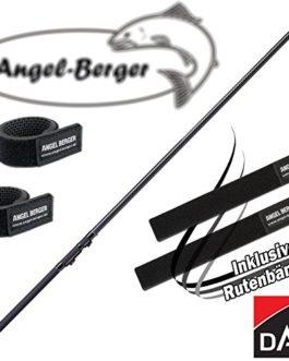 Dam Canne à pêche truite Adjusta Tele Trout 3,80m 10-30g avec bande Angel Berger Canne à pêche