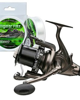 DAM quick sLS 570 fS moulinet de pêche offertes alligator flex 0,40 mm