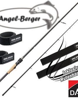 Angel-Berger DAM Effzett Nova Spin Canne à pêche canne à pêche canne à pêche avec canne à pêche Band