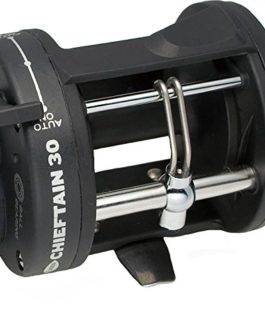 FLADEN CHIEFTAIN 30 – 1 Ball Bearing Sea Multiplier Reel with Line Out Alarm & Level Wind [11-48430] by FLADEN