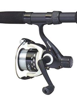 Fladen Canne à pêche télescopique universelle 25à 50g et Charte II Moulinet Combo pour pour une utilisation d'eau douce et de mer