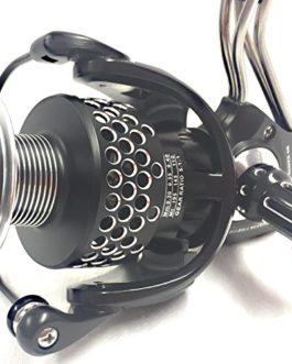 Fladen Maxximus Angle (10+ 1roulement à billes) FD40Moulinet à frein avant en aluminium et corps en acier inoxydable de haute qualité avec bobine de rechange [11-7340]