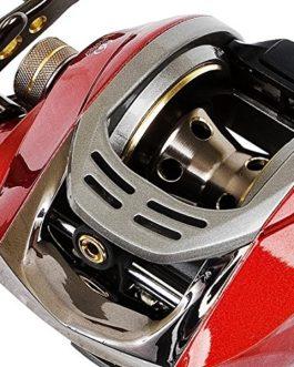 Fladen Maxximus Low Profile Aimant 6Roulements à Billes Main Gauche en métal Bateau de mer Moulinet multiplicateur avec système de freinage magnétique [11-0802]