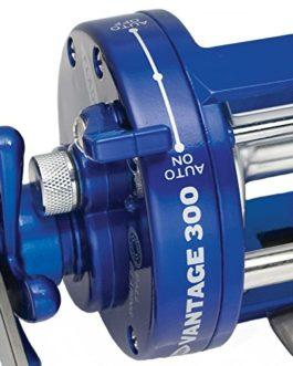 Fladen Vantage 300 Moulinet àroulement à bille avec bobine en aluminium et niveau à vent 11–484300