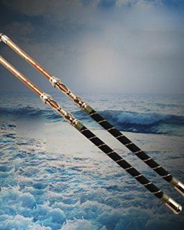 HOMEE@ Poteau Pure de Mer de Carbone Super Dur 2.12.42.7 M 3.03.6 Mètres de Long Canne à Pêche
