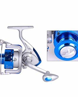 KY Moulinet de pêche Moulinets de pêche, Bobine en Eau salée en métal de résistance à la Corrosion Forte de Moulinet Le système de freinage magnétique