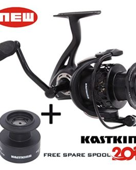 KastKing® Mela Spinning Reel – léger, doux, puissant et est livré avec un Spare Spool GRATUIT – 2,016 Nouveaux Sortie Spinning Reel Fishing vous donne ans de pêche Fun