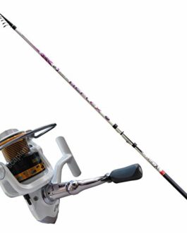 Kit Tremarella Canne Reflex 4,10 m 5-15 g + Moulinet Kaya 2000