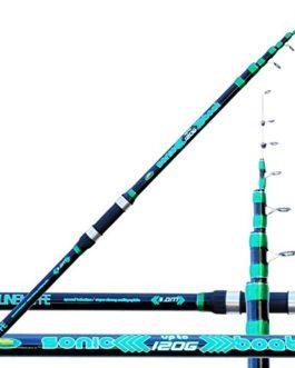 Lineaeffe Canne à pêche Bolentino Sonic Boat 120gr 240cm