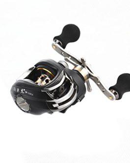 Lixada 11+1BB 6.3:1 moulinet de pêche de main gauche à grande vitesse