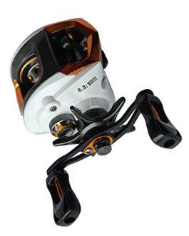 Lixada 12 + 1BB moulinet de pêche roulements à billes CNC Gauche / Droite Poignée Cauche/droite interchangeables Poignée pliable Pêche Spinning Reel