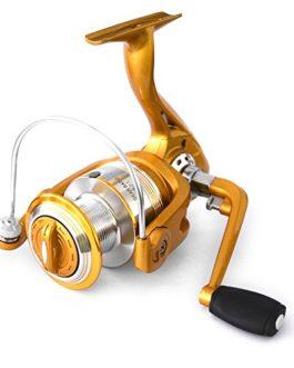 Lixada 12 + Roulements à Billes de 1BB 5.2: 1 Rouleau de Pêche Léger à lame Traitement de la Bobine d'aluminium Bobines Plombées de la Poignée Trappage de Pêche 1000 3000 4000 5000 Série 6000