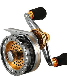 Lixada 6 + 1BB Roulements à Billes Raft Fishing Reel 4.0: 1 Bobine de Pêche Bobine de Métal Droite/Gauche
