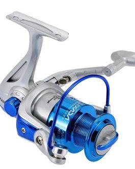 Lixada 8BB roulements à billes gauche / droite interchangeable Poignée pliable moulinet spinning ST4000 5.1:1