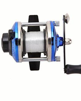 Lixada Mini Moulinets 3.6: 1 1 * boîte pour pêcher sur glace avec 70m fil de pêche