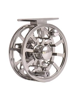 Lixada Moulinet de Pêche 2 + 1 BB Ball Bearing Gear Ratio 1: 1 Fly Fishing Reel Fishing Reels Ice Right / Left Hand Conversion Fly Reels en alliage d'aluminium Spool