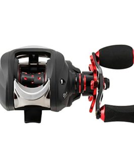 Lixada Reel 11 + 1 Roulements à Billes 7.0: 1 Gear Ratio Haute Vitesse Baitcast Moulinet De Pêche Baitcaster 9-Level Magnetic Brake System